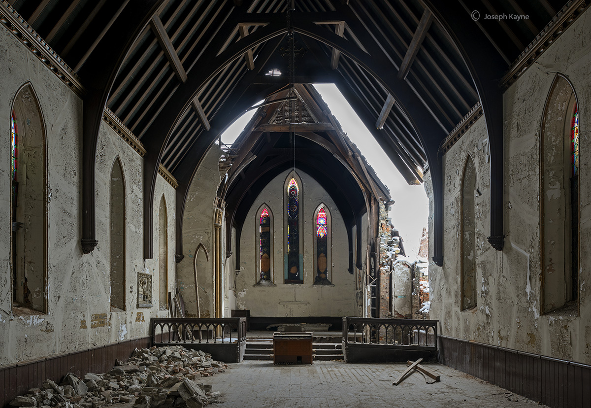 abandoned,faith,church,new,york, photo