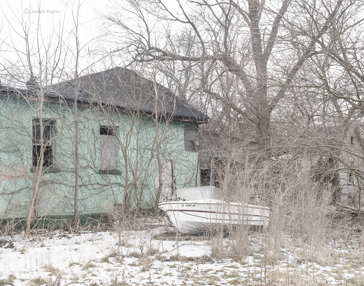 Abandoned House & Boat