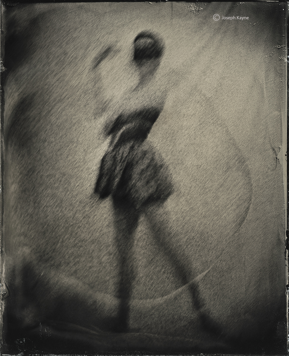 Ghostly BallerinaWet Plate Collodion Tintype
