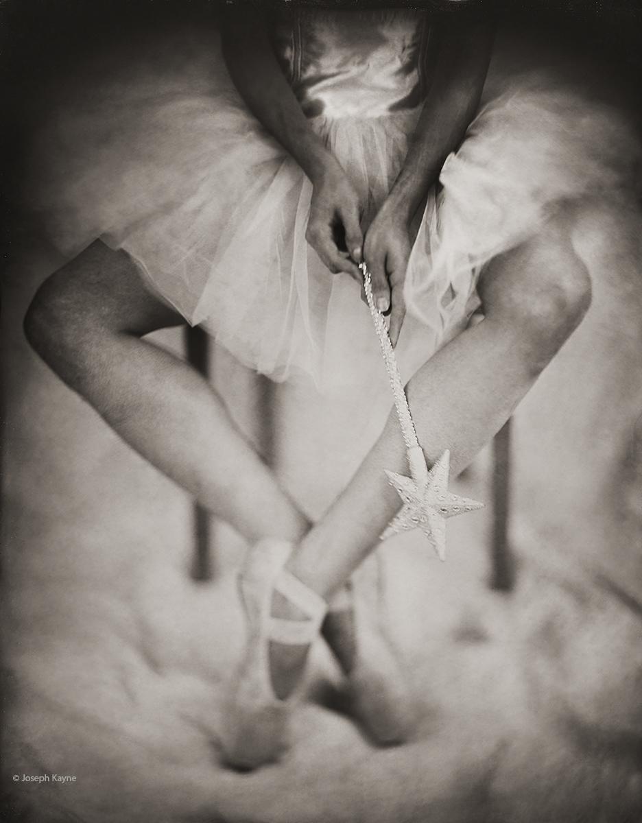Ballerina & Magic WandWet Plate Collodion Tintype