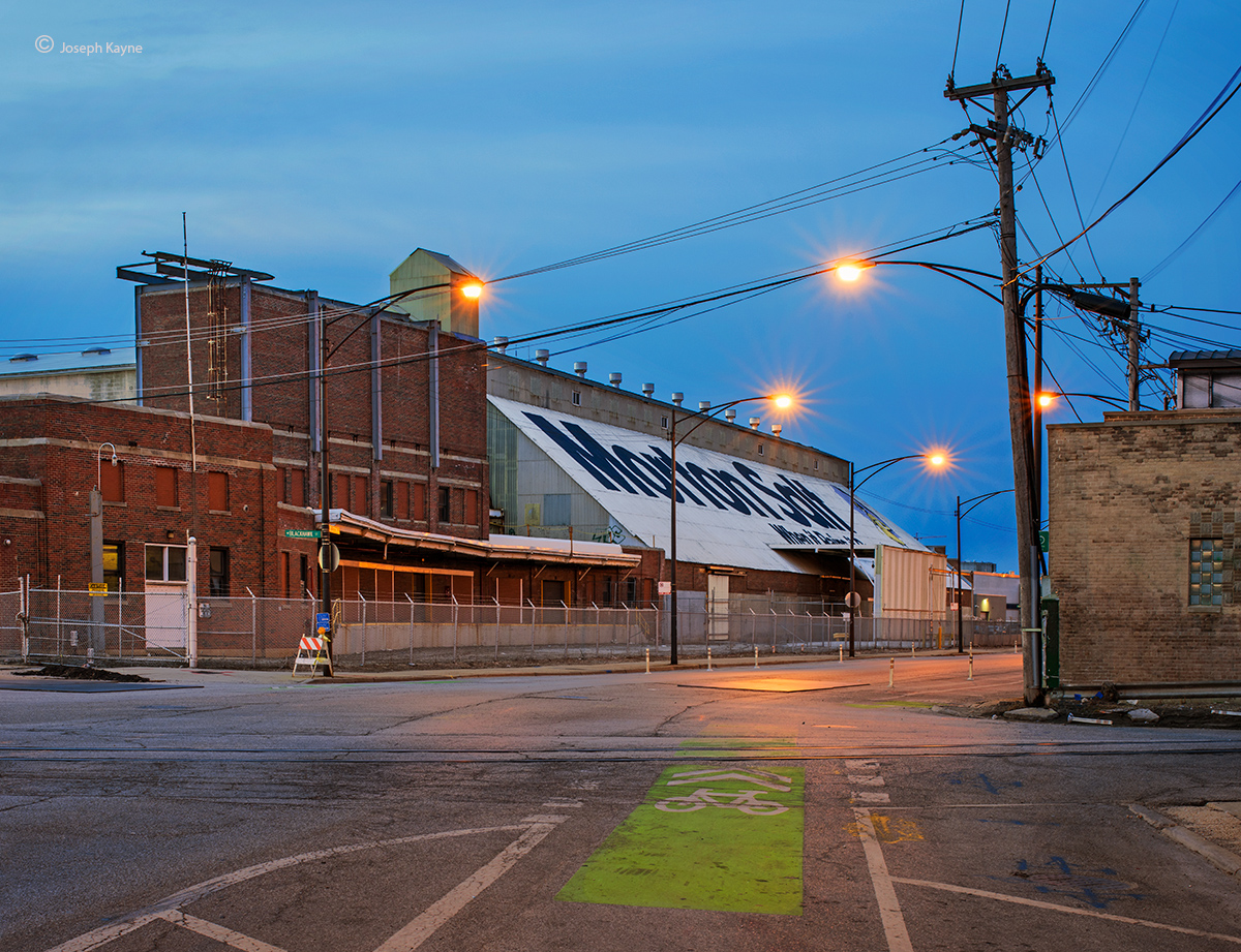 old,morton,salt,factory,chicago,dusk,awakes,a,shuttered,factory, photo