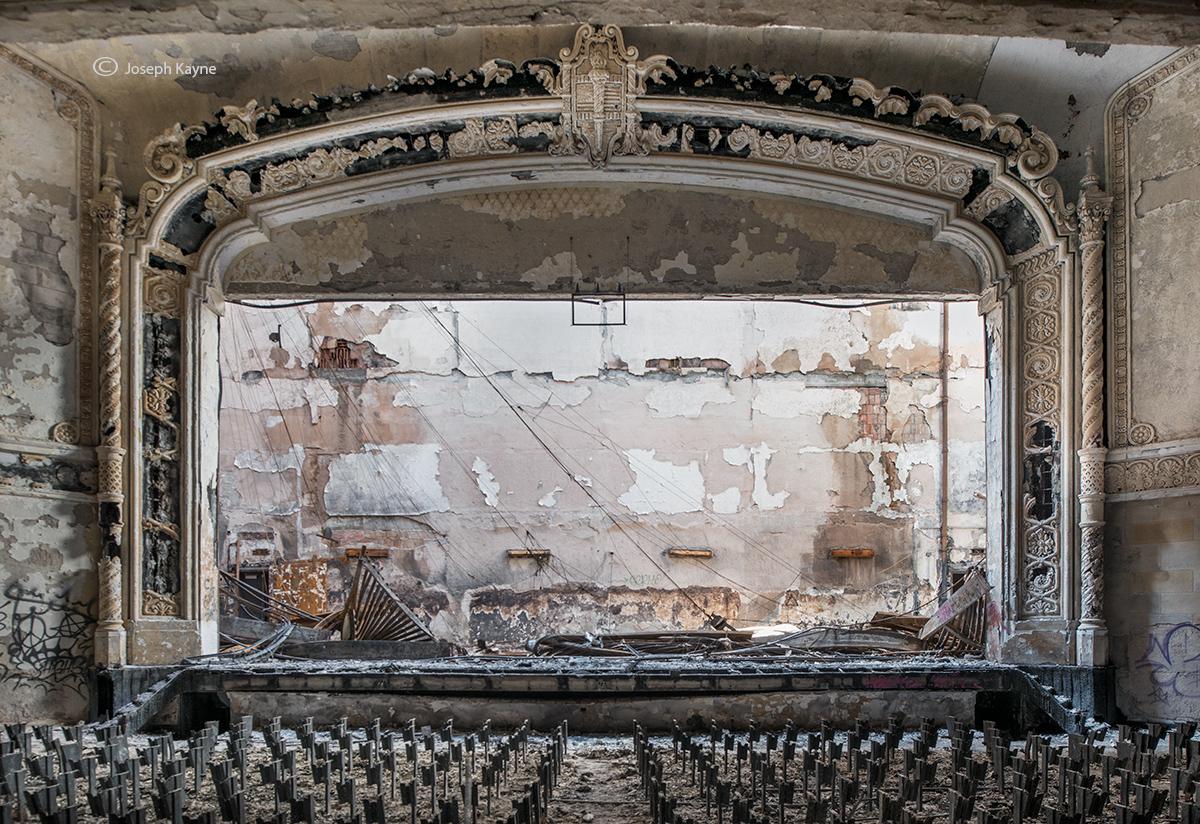 old,auditorium,rust,belt,high,school, photo