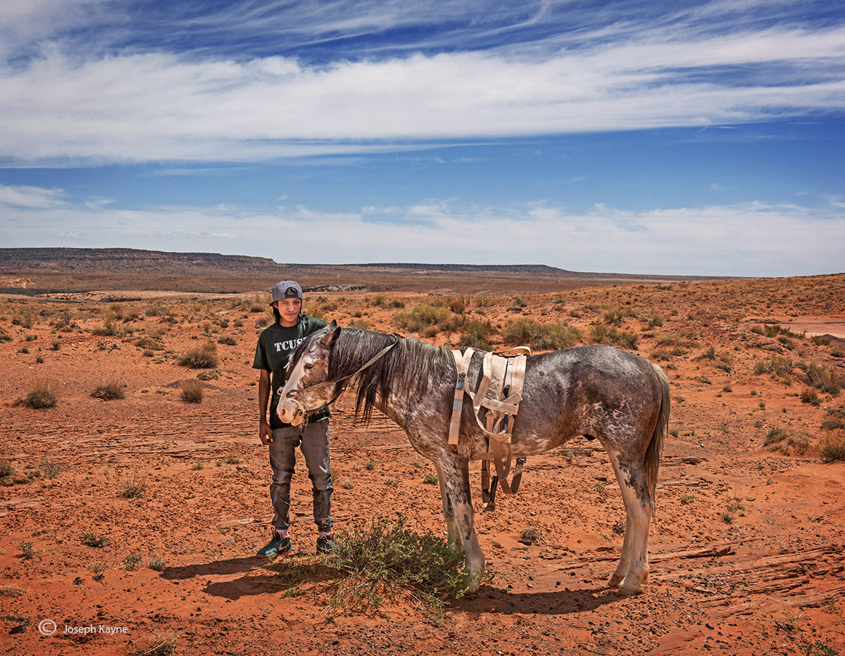 iverson,new,found,horse,navajo,rez, photo