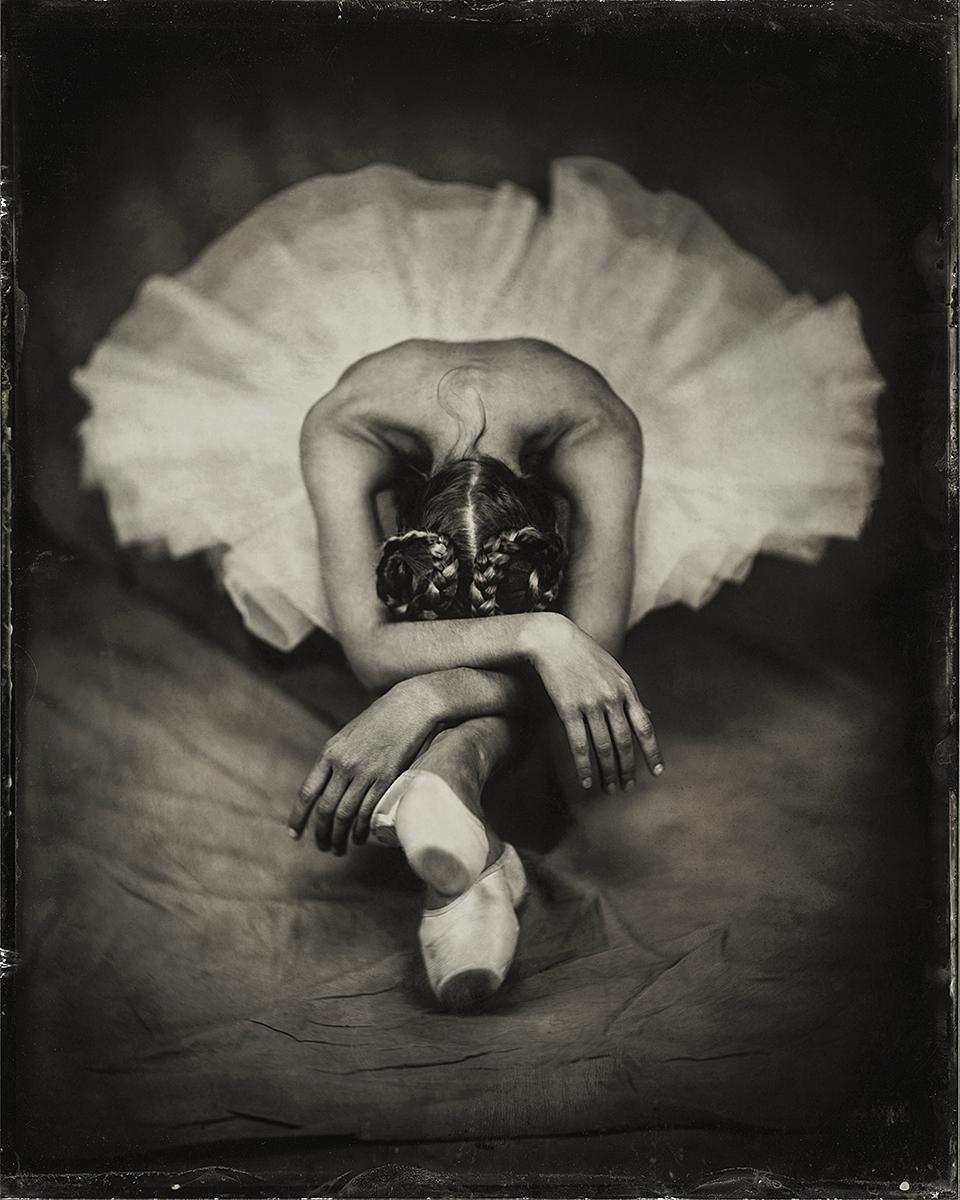 BallerinaWet Plate Collodion Tintype