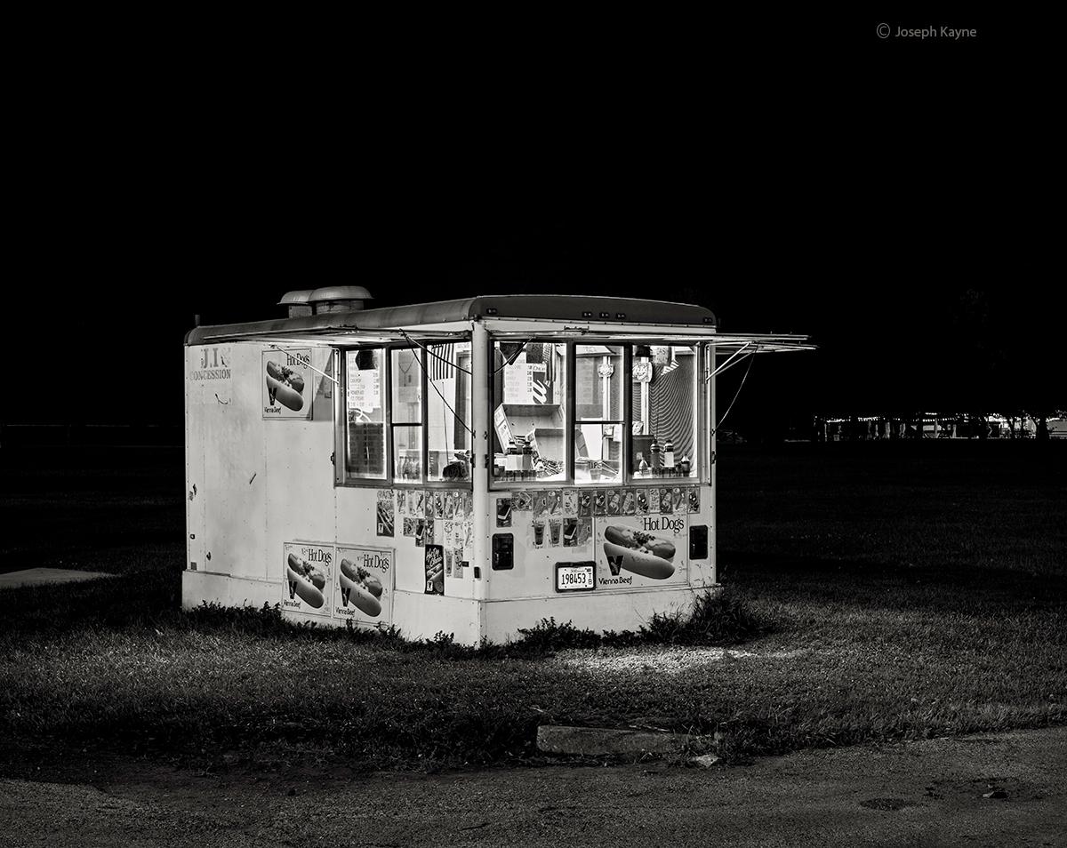 Hot Dog Stand,Montrose Beach,Lake Michigan