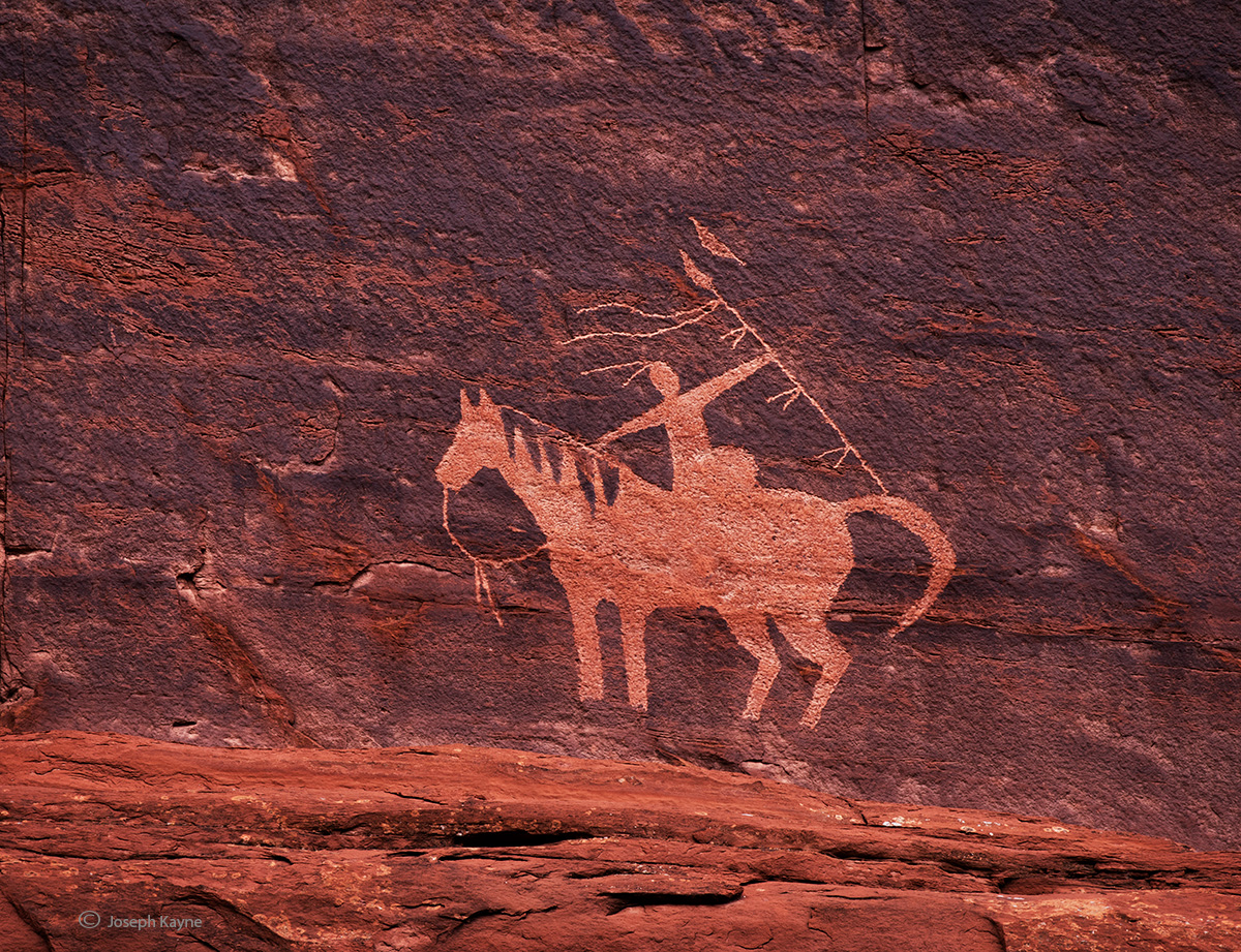 Old Navajo Rock Art
