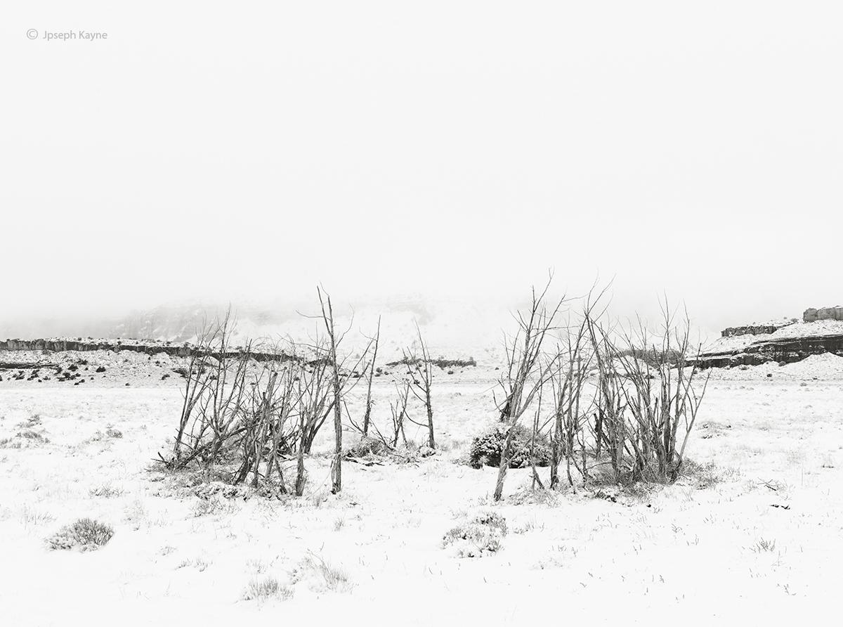 old,navajo,ceremonial,house,snow,ganado,arizona, photo