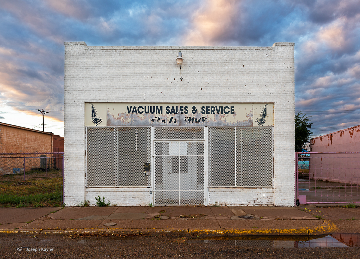 Old School Vacuum Repair Store