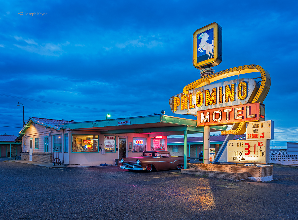 palomino,motel,route,66,old, photo