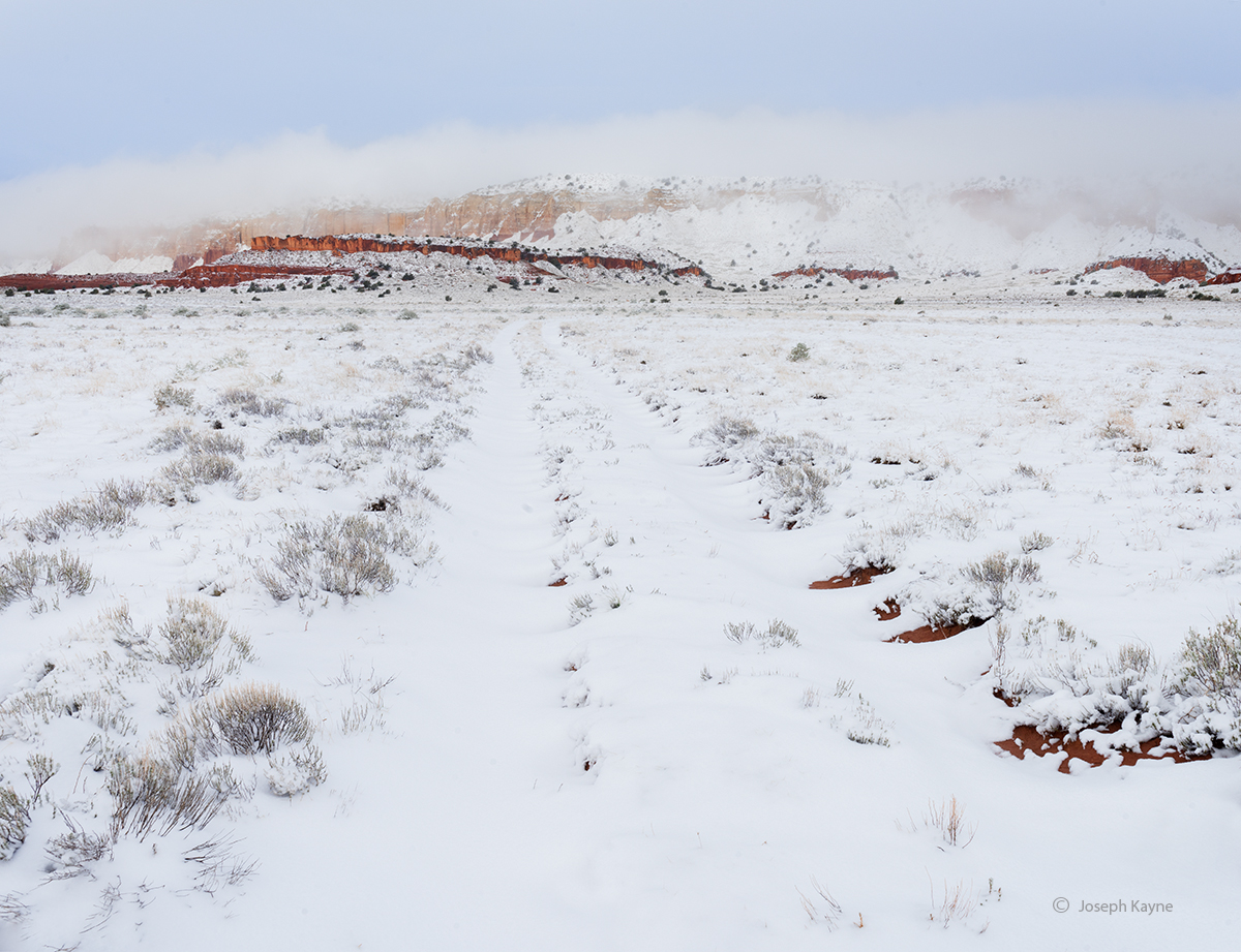 Clearing Winter Storm, Navajo Nation