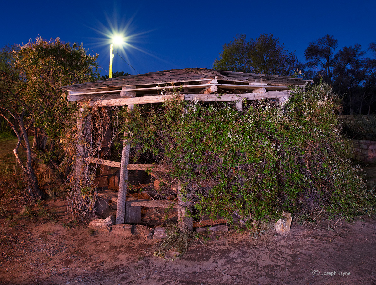 shade,house,night,hubbell,trading,post, photo