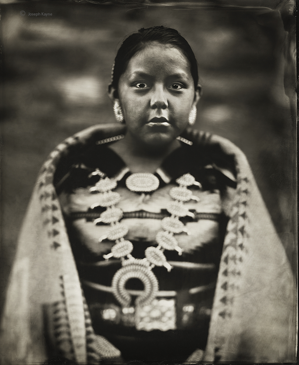 Paige Wagner, Navajo, Lukachukai, Navajo Nation, ArizonaBorn To: Water Flows Together ClanBorn For: Coyote Pass ClanWet Plate...