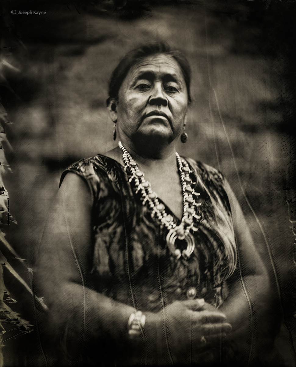 navajo,woman,wet,plate,collodion,tintype,portrait,hubbell,trading,post,ganado,arizona, photo