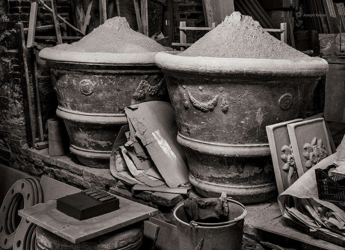 Terracotta Workshop,Tuscany, Italy
