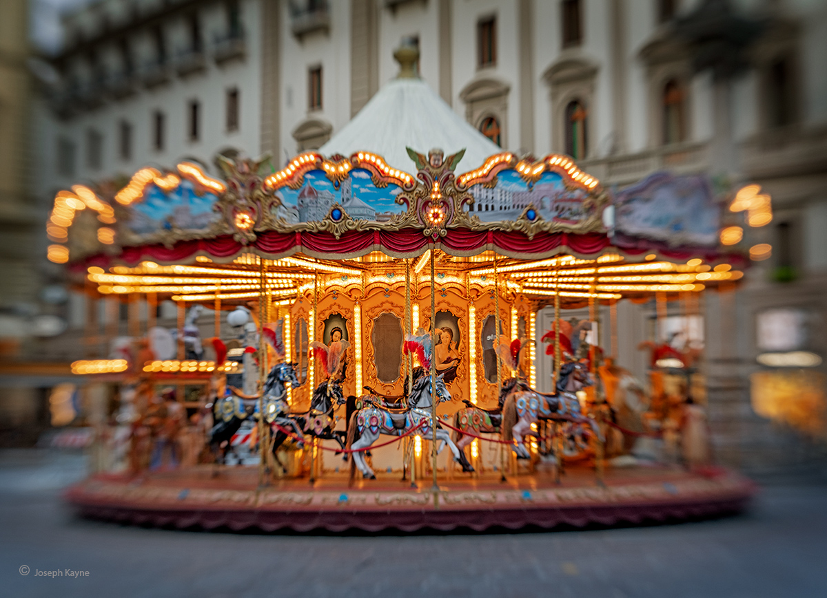 The Carousel,Florence, Italy