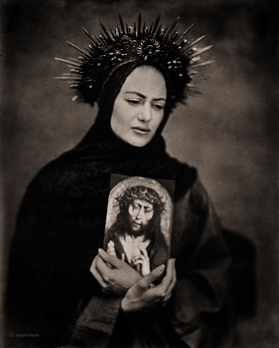 Portrait of A Modern Madonna