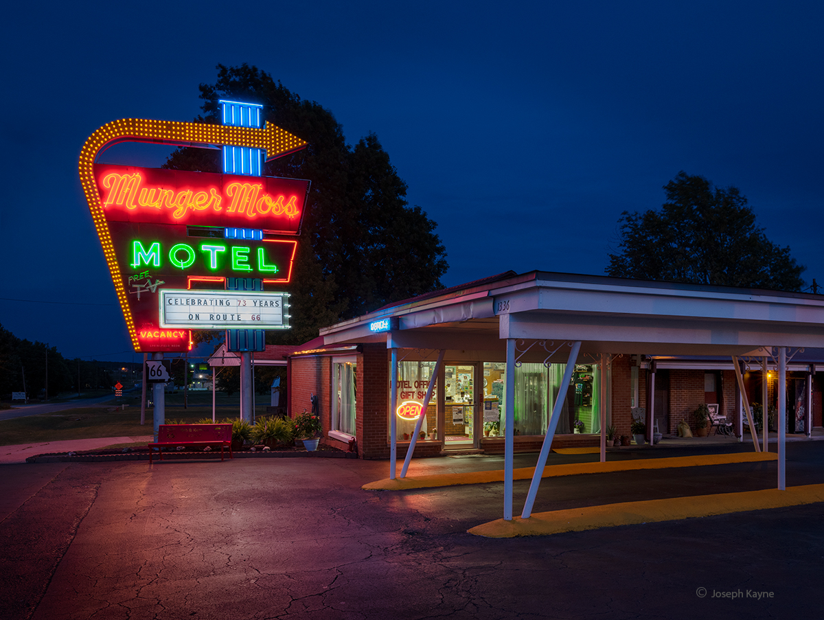 Old Motel on Route 66