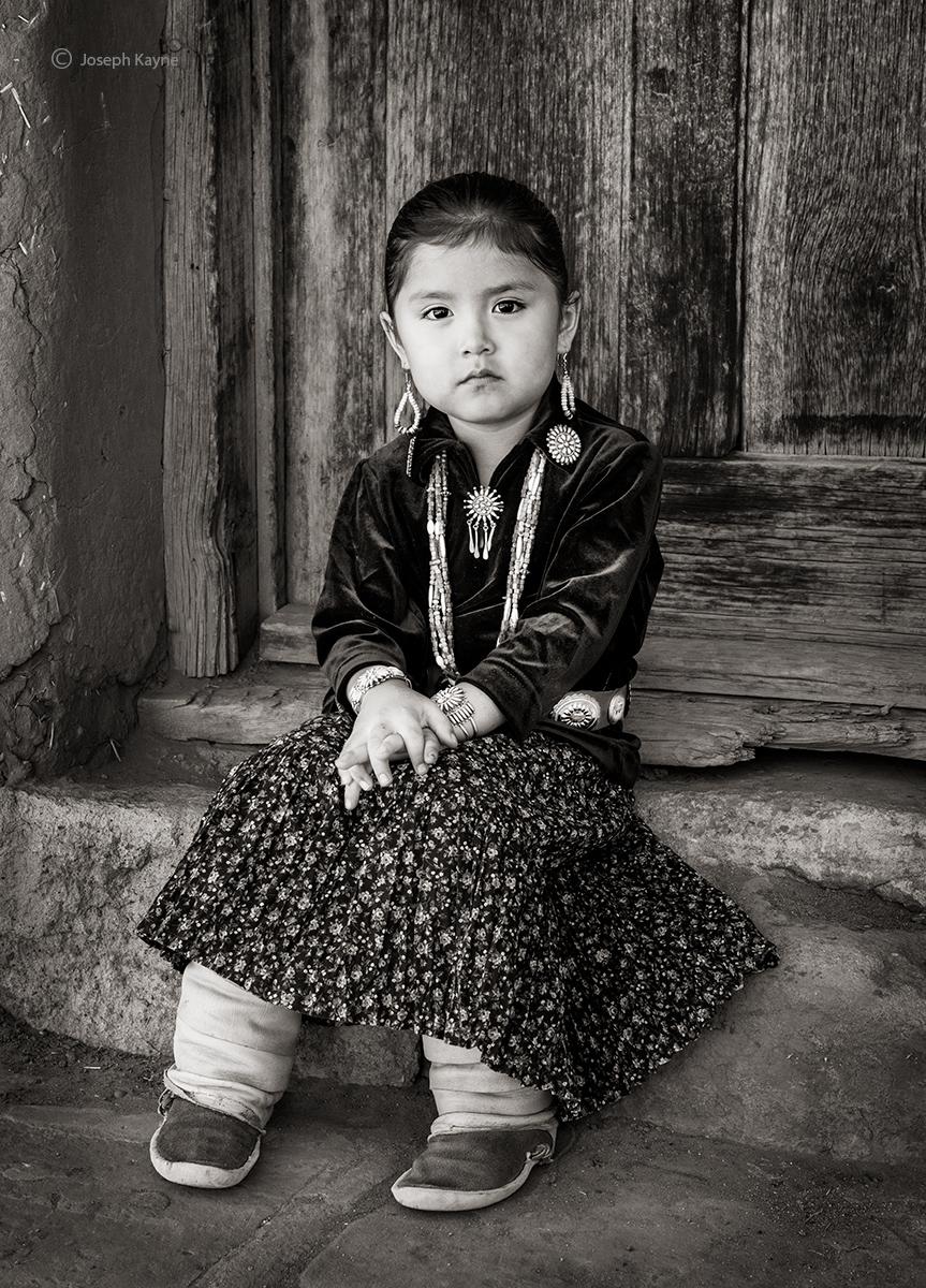 DesibahNavajo GirlBorn To: One Who Walks Around ClanBorn For: Mexican Clancopyright Joseph Kayne