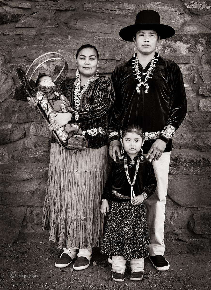 Navajo FamilyCopyright Joseph Kayne