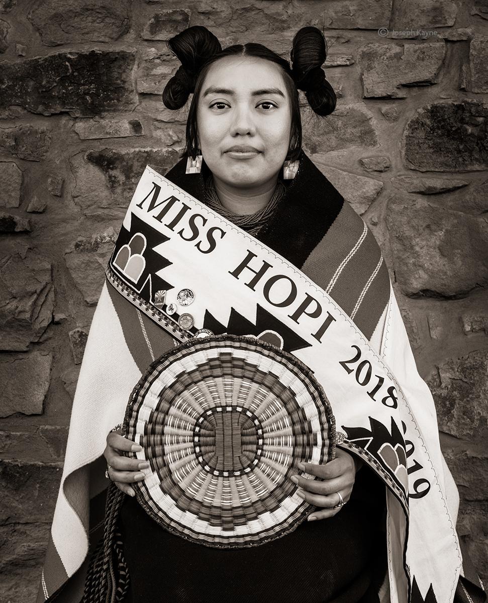 Miss Hopi American 2018-2019Corn Clancopyright Joseph Kayne