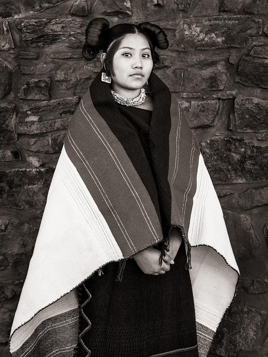 Hopi Maiden PortraitCorn Clancopyright Joseph Kayne