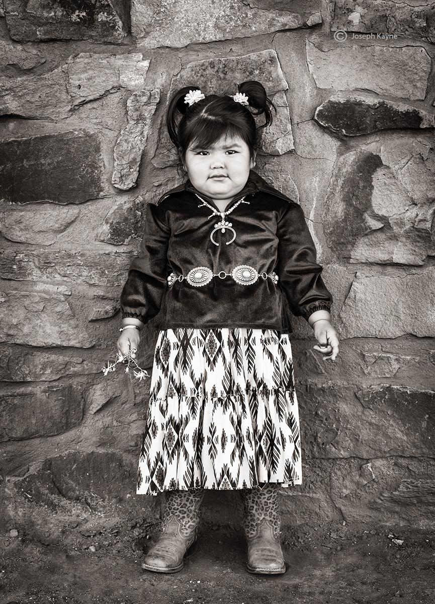 Navajo GirlBorn To: Water Edge ClanBorn For: One Who Walks Around Clancopyright Joseph Kayne