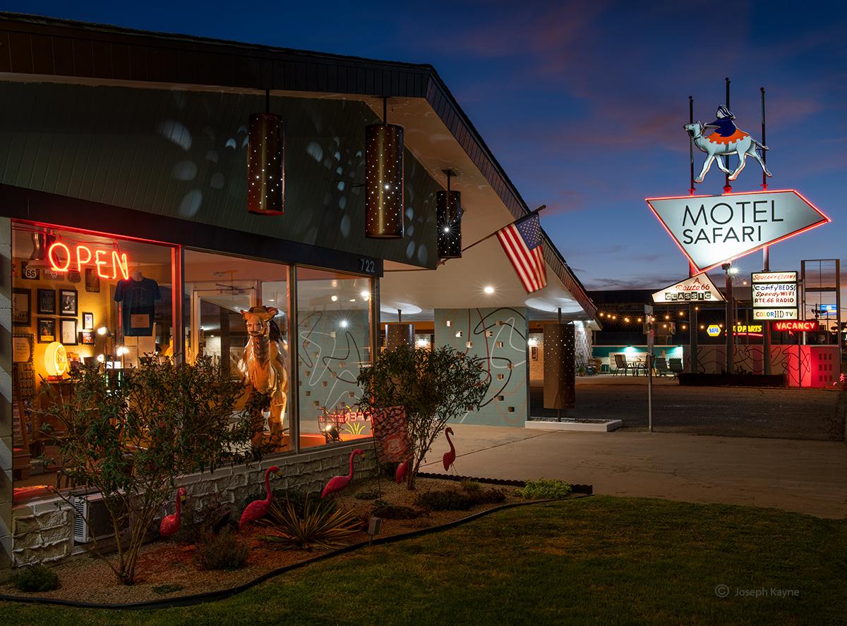 Motel Along Route 66