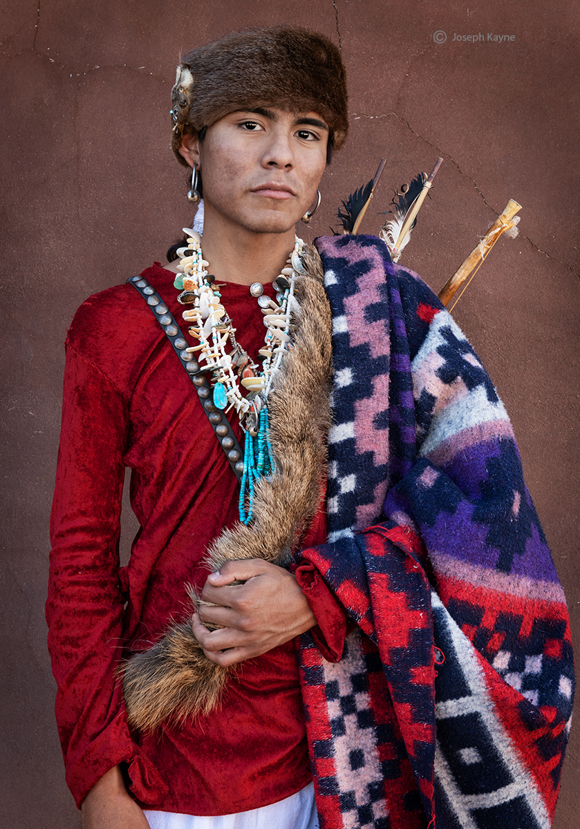 Portrait of A Navajo TeenCanyon de ChellyBorn To:Towering House ClanBorn For: Mexican Clancopyright Joseph Kayne
