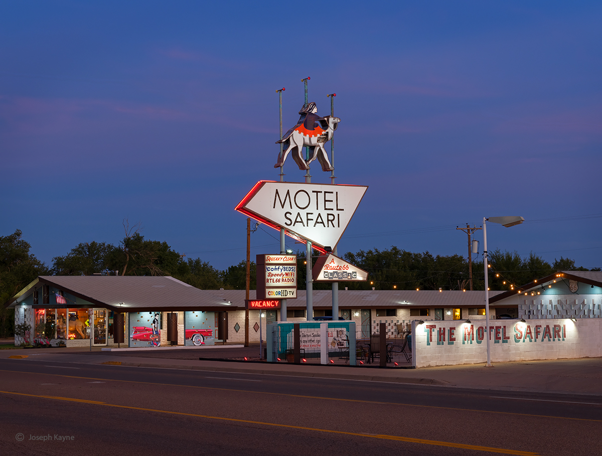 Old Motel Along Route 66