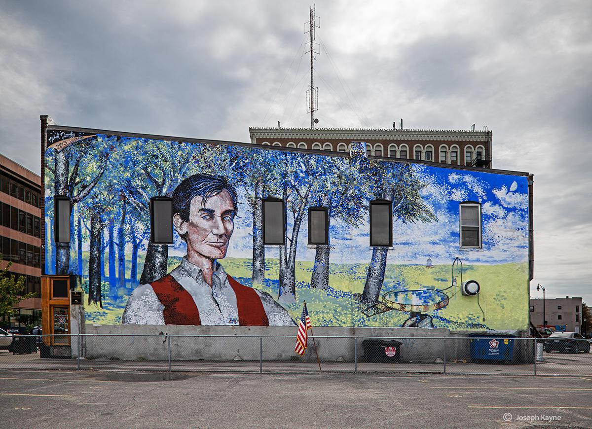 Abraham Lincoln Mural,Springfield, Illinois