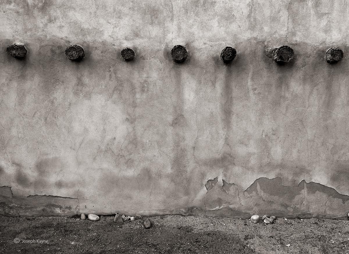 Old Adobe WallSan Juan Pueblocopyright Joseph Kayne