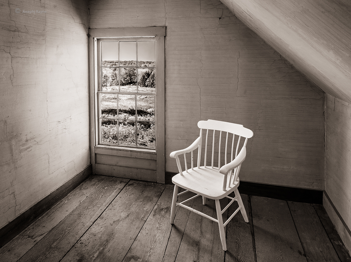 White Chair & WindowOlson HouseAndrew Wyeth Was Here...