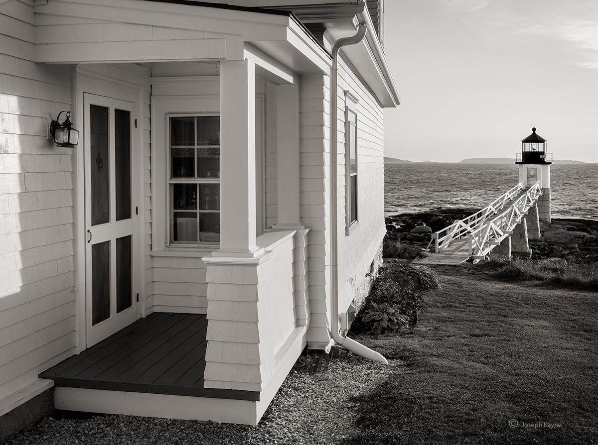 Marshall Lighthouse at Sunrise