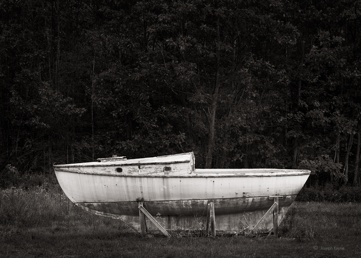 Old Solitary Boat